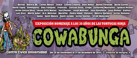 Cowabunga! Exposición homenaje a los 30 años de las Tortugas Ninja