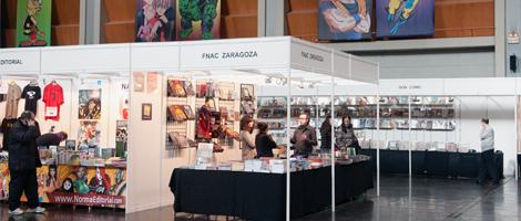 Expositores XIII Salón del Cómic de Zaragoza