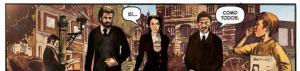Guionista, dibujante y editor charlan sobre la adaptación al cómic de 'El Ministerio del Tiempo'