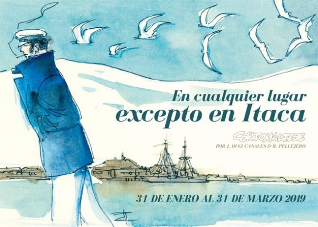 En cualquier lugar excepto en Ítaca. Corto Maltés. Centro de Historias de Zaragoza