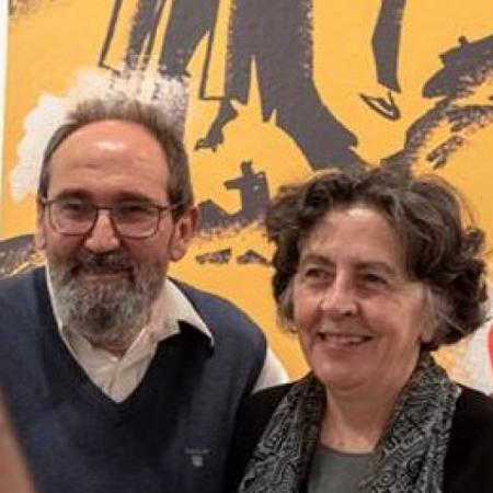 Sento Llobell y Elena Uriel
