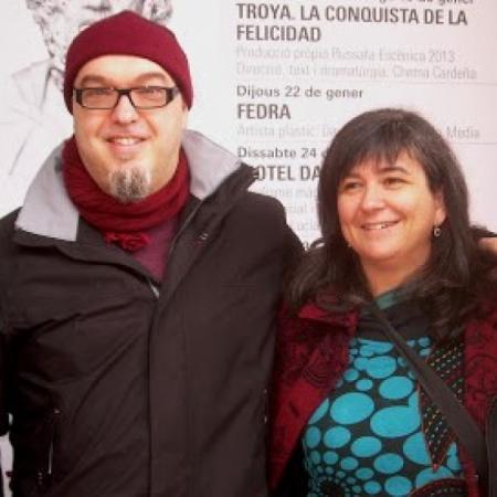 Cristina Durán y Miguel Ángel Giner