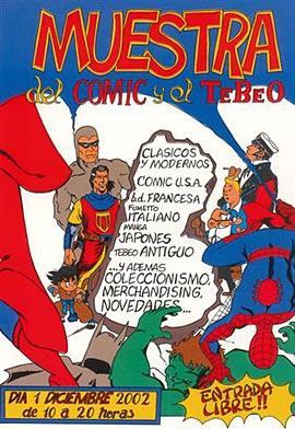 Cartel del Comic 2002