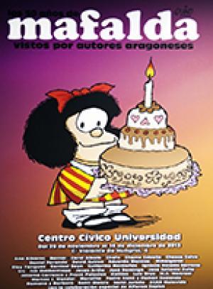 Salón Cómic Zaragoza 2013 Exposición de Mafalda