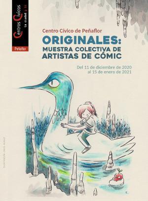 Originales Muestra artistas cómic