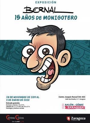 Salón Cómic Zaragoza 2019 Album de fotos Exposición Bernal
