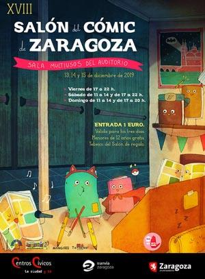 Salón Cómic Zaragoza 2019 Album de fotos Presentacion cartel