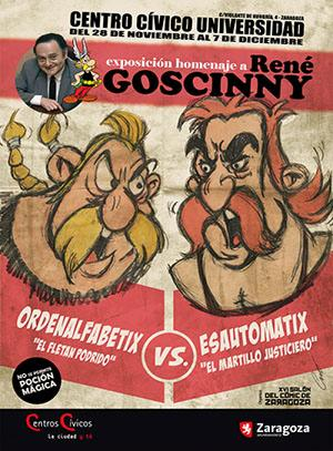 Salon Comic Zaragoza 2017 Rene Goscinny