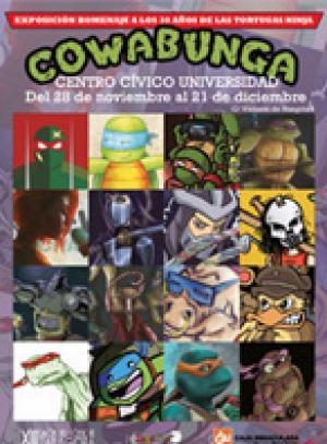 Salón Cómic Zaragoza 2014 Exposición Tortugas Ninja