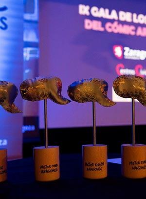 Salón Cómic Zaragoza 2019 Album de fotos Gala Premios Cómic Aragones