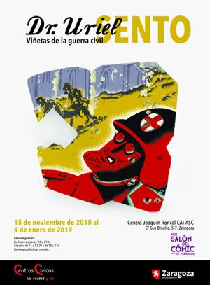 Salon Comic Zaragoza 2018 Exposición Sento  Joaquin Roncal