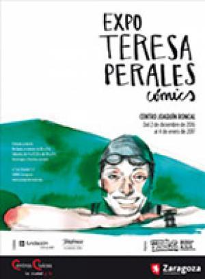Salón Cómic Zaragoza 2016 Exposición Teresa Perales